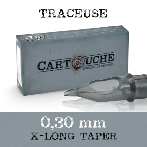iTC Tattoo et Piercing - Cartouches Sterile Traceuse Bugpin Ø 0.30mm 20 pcs