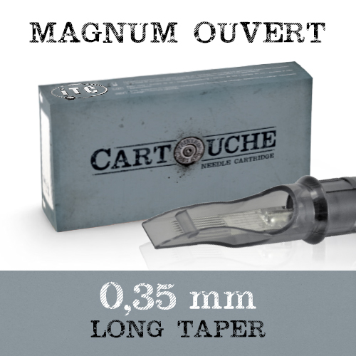 iTC Tattoo et Piercing - Cartouches Sterile Magnum ouvert 0.35mm Long taper 20 pcs
