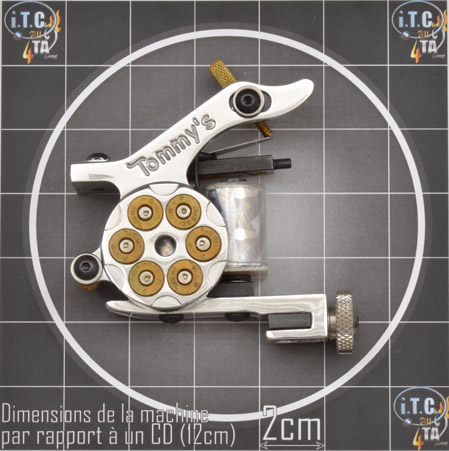 Machine Tattoo TOMMY'S 38 SPECIAL Aluminium Traceuse - 0G220L
