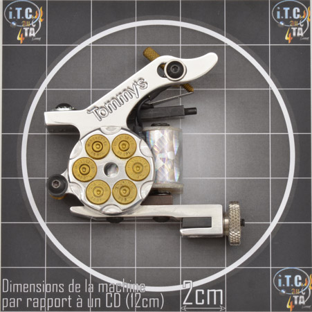 Machine Tattoo TOMMY'S 38 SPECIAL Aluminium Remplisseuse - 0G220S