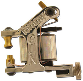 iTC Tattoo et Piercing - Machine Tattoo TOMMY GUN Aluminium Traceuse