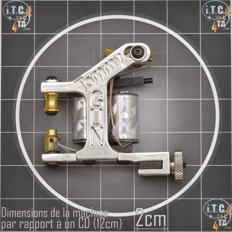 Machine Tattoo TOMMY GUN Aluminium Remplisseuse - 0G221S