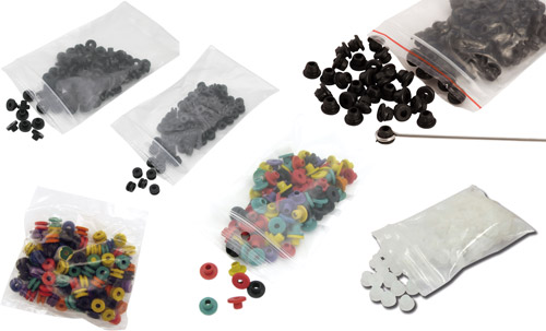 iTC Tattoo et Piercing - Joint conique/Nipples/Grommets pour armature bar,100pcs