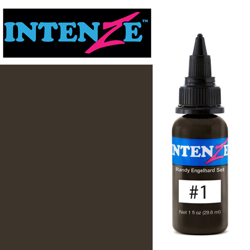 Encre INTENZE, stérile, 30ml, Randy Engelhard N°01