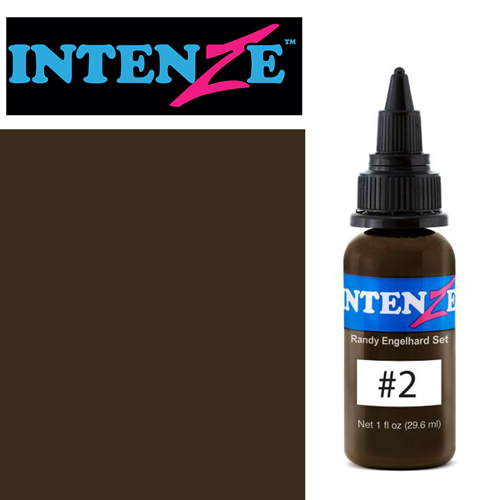 iTC Tattoo et Piercing - Encre INTENZE, stérile, 30ml, Randy Engelhard N°02
