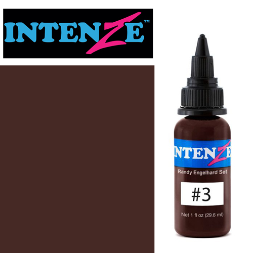 iTC Tattoo et Piercing - Encre INTENZE, stérile, 30ml, Randy Engelhard N°03