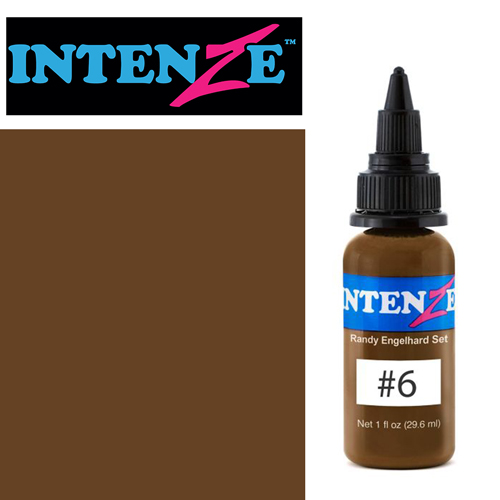 iTC Tattoo et Piercing - Encre INTENZE, stérile, 30ml, Randy Engelhard N°06