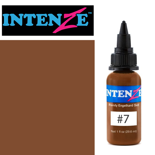 iTC Tattoo et Piercing - Encre INTENZE, stérile, 30ml, Randy Engelhard N°07