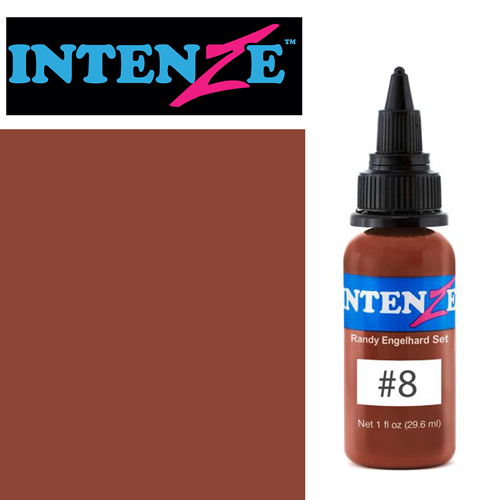 iTC Tattoo et Piercing - Encre INTENZE, stérile, 30ml, Randy Engelhard N°08