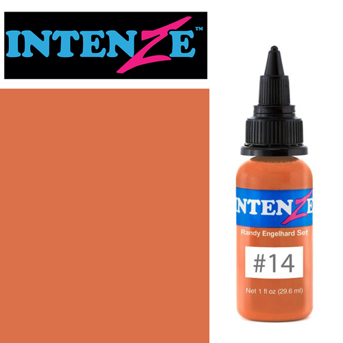 iTC Tattoo et Piercing - Encre INTENZE, stérile, 30ml, Randy Engelhard N°14