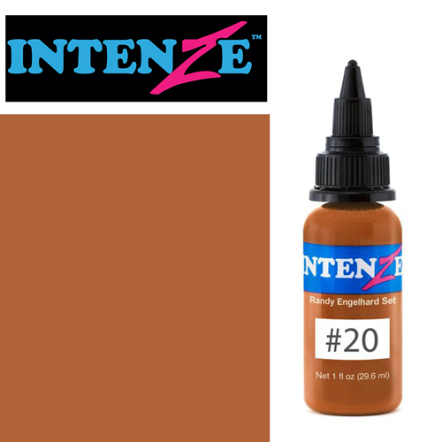 iTC Tattoo et Piercing - Encre INTENZE, stérile, 30ml, Randy Engelhard N°20