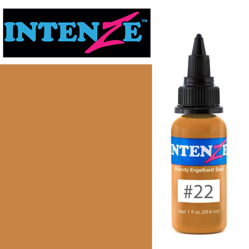iTC Tattoo et Piercing - Encre INTENZE, stérile, 30ml, Randy Engelhard N°22