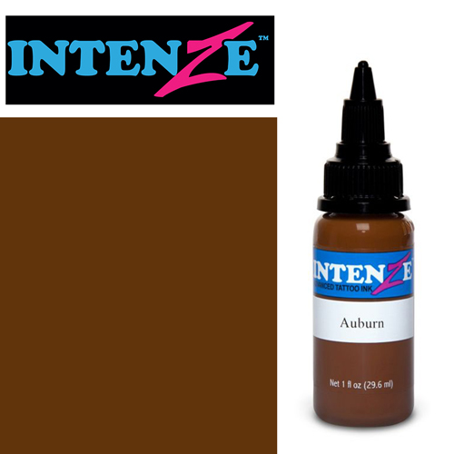 iTC Tattoo et Piercing - Encre INTENZE, stérile, 1 Oz (30ml)coloris :Auburn