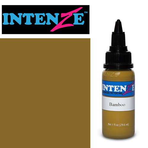 iTC Tattoo et Piercing - Encre INTENZE, stérile, 1 Oz (30ml)coloris :Bamboo