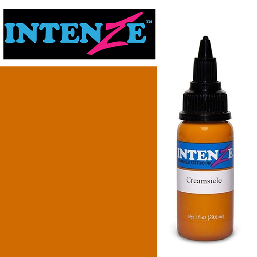 iTC Tattoo et Piercing - Encre INTENZE, stérile, 1 Oz (30ml)coloris :Creamsicle