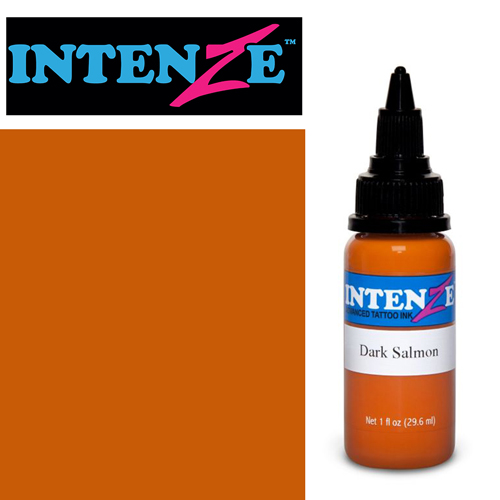iTC Tattoo et Piercing - Encre INTENZE, stérile, 1 Oz (30ml)coloris :Dark Salmon