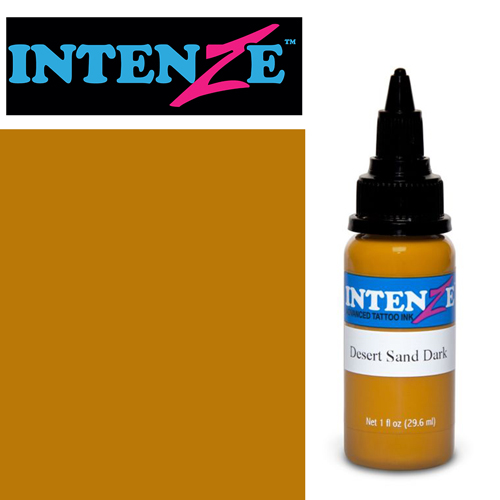 iTC Tattoo et Piercing - Encre INTENZE, stérile, 1 Oz (30ml)coloris :Desert Sand Dark