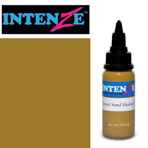 iTC Tattoo et Piercing - Encre INTENZE, stérile, 1 Oz (30ml)coloris :Desert Sand Medium