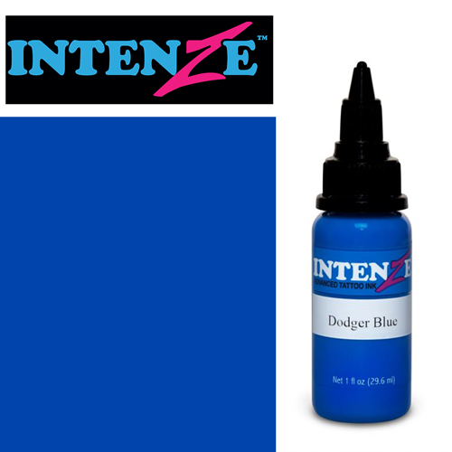 iTC Tattoo et Piercing - Encre INTENZE, stérile, 1 Oz (30ml)coloris :Dodger Blue