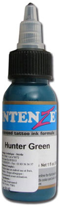 Encre INTENZE, stérile, 1 Oz (30ml),coloris :Hunter Green
