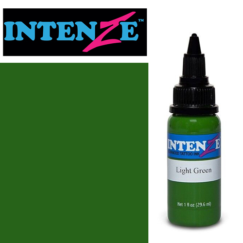iTC Tattoo et Piercing - Encre INTENZE, stérile, 1 Oz (30ml),coloris :Light Green
