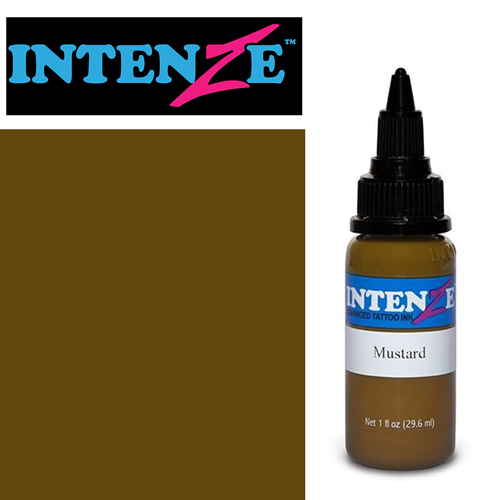 iTC Tattoo et Piercing - Encre INTENZE, stérile, 1 Oz (30ml)coloris :Mustard