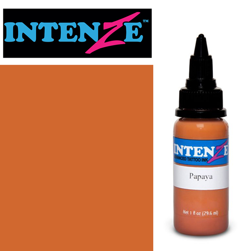 iTC Tattoo et Piercing - Encre INTENZE, stérile, 1 Oz (30ml)coloris :Papaya