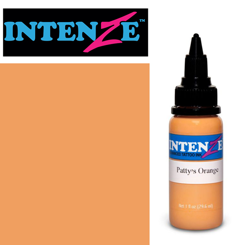 iTC Tattoo et Piercing - Encre INTENZE, st�rile, 1 Oz (30ml)coloris :Pattys Orange