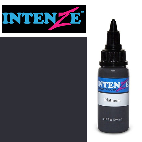 iTC Tattoo et Piercing - Encre INTENZE, stérile, 1 Oz (30ml)coloris :Platinum