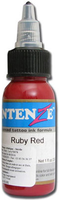 Encre INTENZE, stérile, 1 Oz (30ml)coloris : Ruby Red