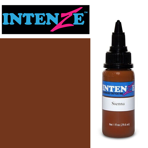 iTC Tattoo et Piercing - Encre INTENZE, stérile, 1 Oz (30ml)coloris : Sienna