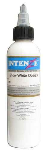 Encre INTENZE, stérile, coloris : Snow White Opaque - 0I187