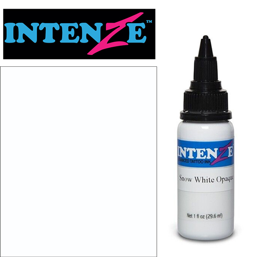 Encre INTENZE, stérile, coloris : Snow White Opaque