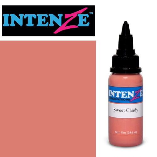 iTC Tattoo et Piercing - Encre INTENZE, stérile, 1 Oz (30ml),coloris : Sweet Candy