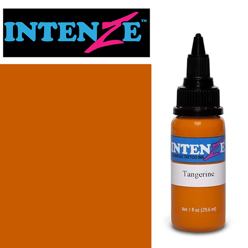 iTC Tattoo et Piercing - Encre INTENZE, stérile, 1 Oz (30ml),coloris : Tangerine