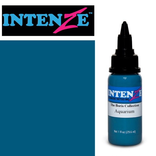 iTC Tattoo et Piercing - Encre INTENZE, stérile, 1 Oz (30ml),coloris : BORIS Aquarium