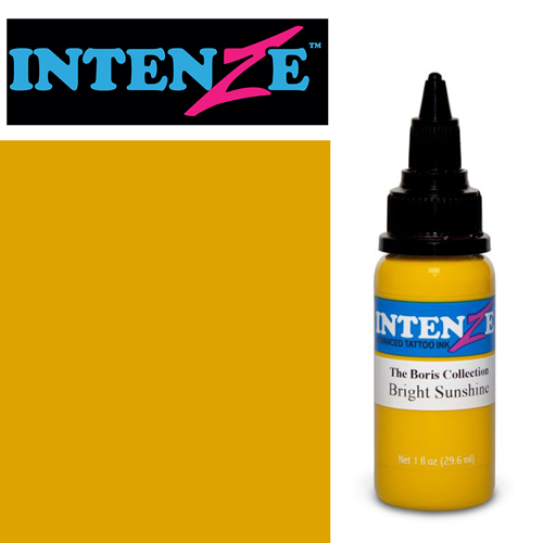 iTC Tattoo et Piercing - Encre INTENZE, stérile, 1 Oz (30ml),coloris : BORIS Bright Sunshine