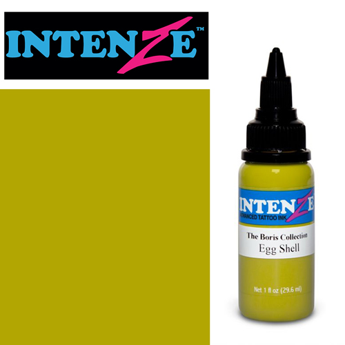 iTC Tattoo et Piercing - Encre INTENZE, stérile, 1 Oz (30ml),coloris : BORIS Egg Shell