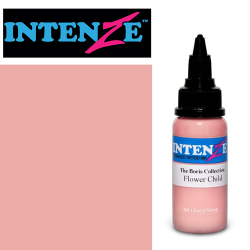 iTC Tattoo et Piercing - Encre INTENZE, stérile, 1 Oz (30ml),coloris : BORIS Flower Child