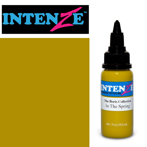 iTC Tattoo et Piercing - Encre INTENZE, stérile, 1 Oz (30ml),coloris : BORIS In the Spring