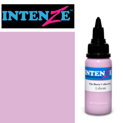 iTC Tattoo et Piercing - Encre INTENZE, stérile, 1 Oz (30ml),coloris : BORIS Liliom