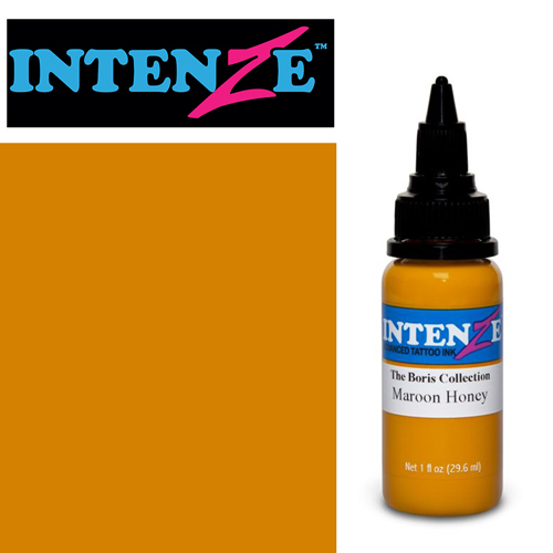 iTC Tattoo et Piercing - Encre INTENZE, stérile, 1 Oz (30ml),coloris : BORIS Maroon Honey