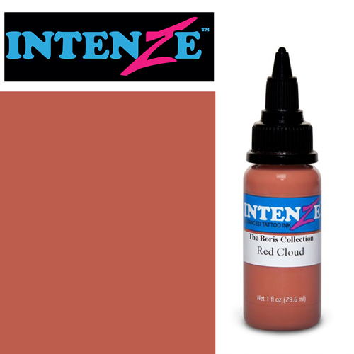 iTC Tattoo et Piercing - Encre INTENZE, stérile, 1 Oz (30ml),coloris : BORIS Red Cloud