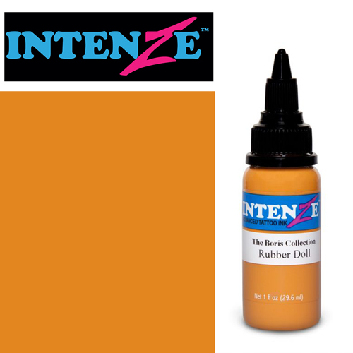 iTC Tattoo et Piercing - Encre INTENZE, stérile, 1 Oz (30ml),coloris : BORIS Rubber Doll
