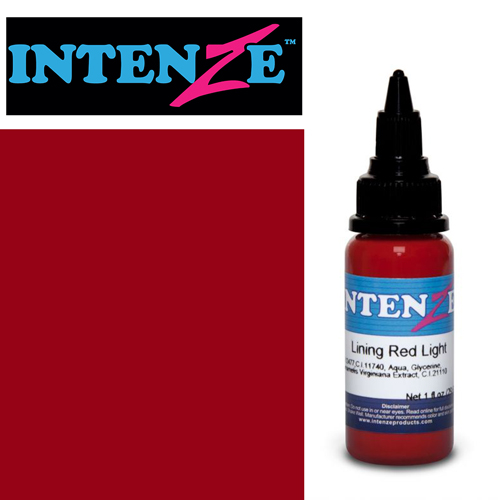 Encre INTENZE, stérile, 1 Oz (30ml),coloris :Lining Red Light