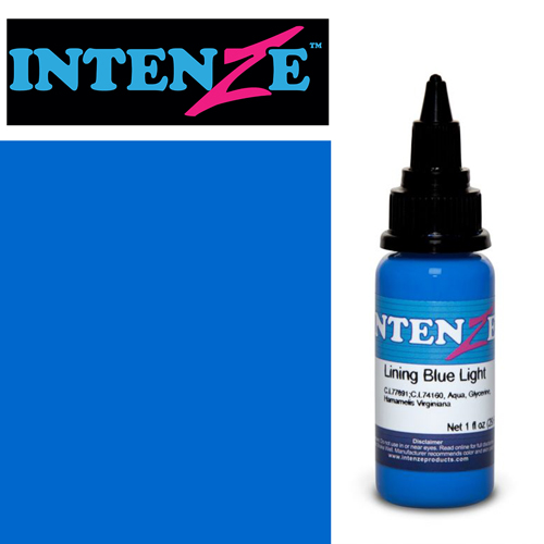 iTC Tattoo et Piercing - Encre INTENZE, stérile, 1 Oz (30ml),coloris :Lining Blue Light
