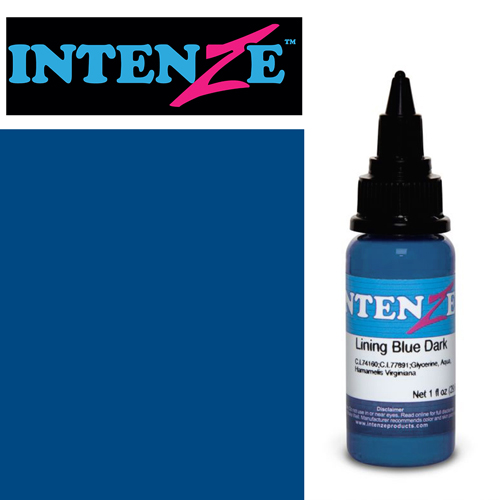 Encre INTENZE, st�rile, 1 Oz (30ml),coloris :Lining Blue Dark