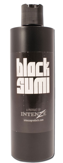 iTC Tattoo et Piercing - Encre INTENZE, stérile, 12 Oz (360ml)coloris BLACK SUMI