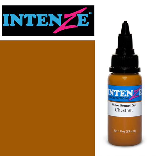 iTC Tattoo et Piercing - Encre INTENZE, stérile, 1 Oz (30ml),coloris : DEMASI Chestnut