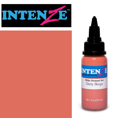 iTC Tattoo et Piercing - Encre INTENZE, stérile, 1 Oz (30ml),coloris : DEMASI Dirty Beige